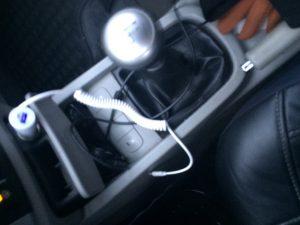 Автомобильное зарядное устройство для iPhone 6 / 5 Plus