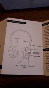 BT - 45 Foldable Wireless Stereo Bluetooth Headset